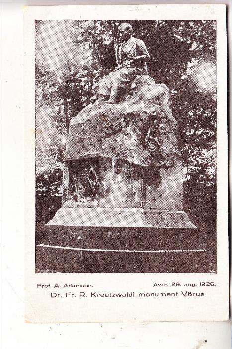 EESTI / ESTLAND - TARTU / DORPAT, Denkmal, 1926