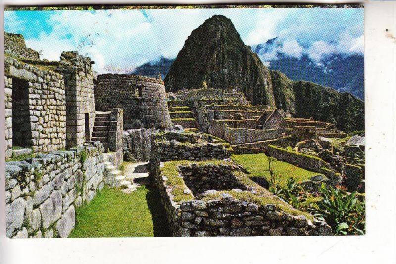 PERU - MACHUPICCHU, Temple, Bolivia stamp