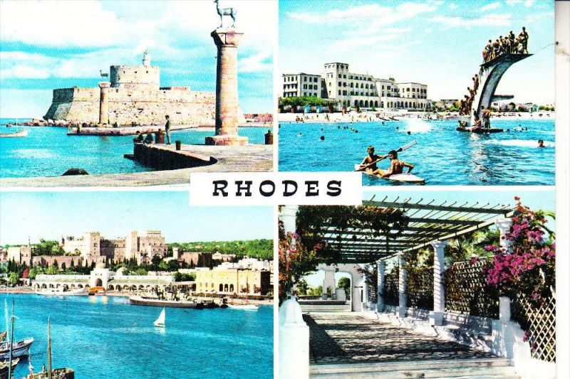 HELLAS / GREECE / GRIECHENLAND, Rhodes, multi view