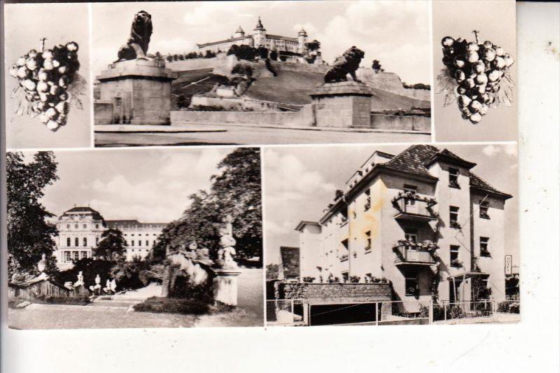 8700 WÜRZBURG, Hotel garni Groene, 1960