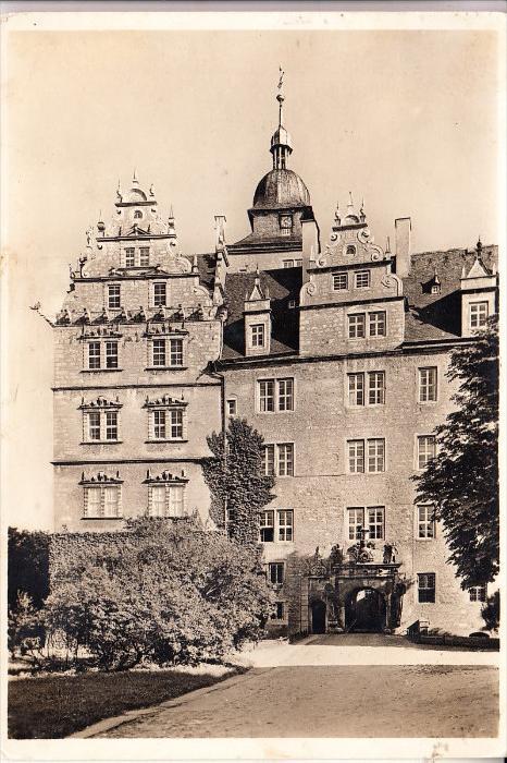 3180 WOLFSBURG, Schloß v. d. Schulenburg, 193...