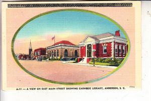 USA / SOUTH CAROLINA / ANDERSON, East Main Street, Carnegie Library