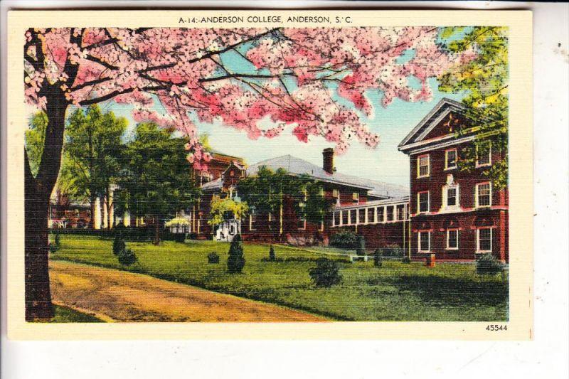 USA / SOUTH CAROLINA / ANDERSON, Anderson College