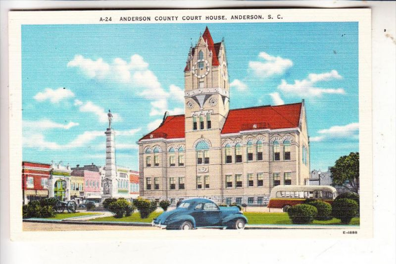 USA / SOUTH CAROLINA / ANDERSON, Country Court House