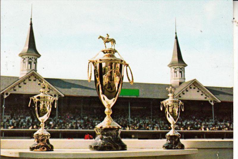 SPORT - REITSPORT - Kentucky Derby Trophies