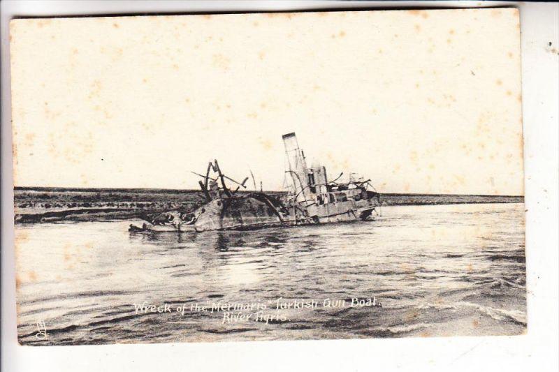 IRAK / IRAQ - TIGRIS - Ship wreck
