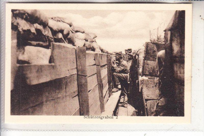 MILITÄR - 1.Weltkrieg, Schützengraben 2