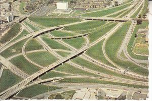 USA - GEORGIA - ATLANTA, Intercharge complex Highways I-75 / I-85 & I-20