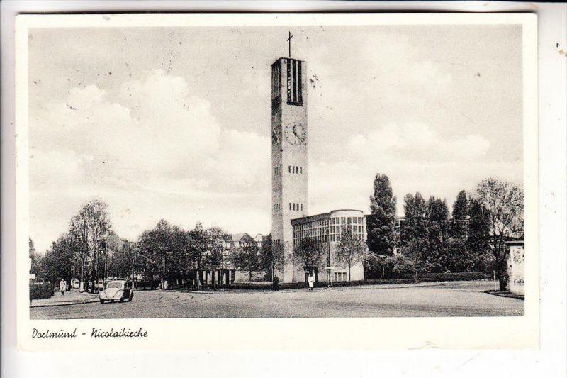 4600 DORTMUND, Nicolaikirche, 1954