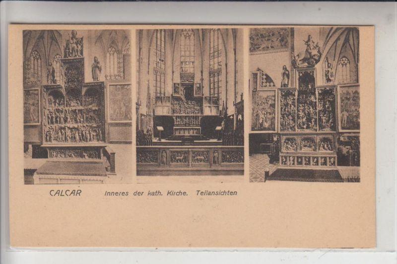 4192 KALKAR, Inneres der kath. Kirche