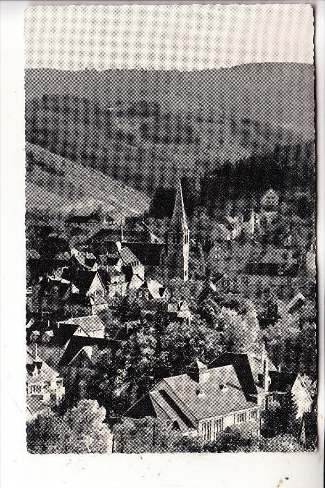 5270 GUMMERSBACH, Ortsansicht, 1960