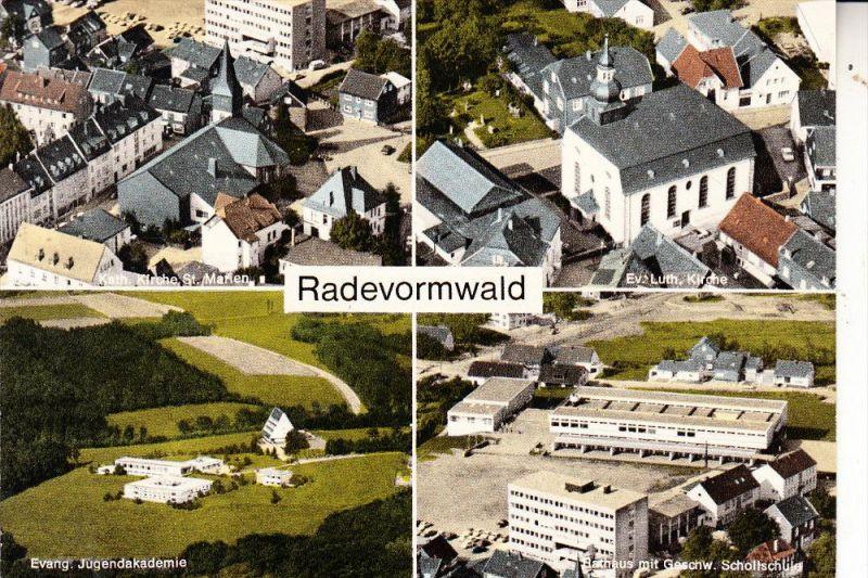 5608 RADEVORMWALD, Mehrbild Luftaufnahmen