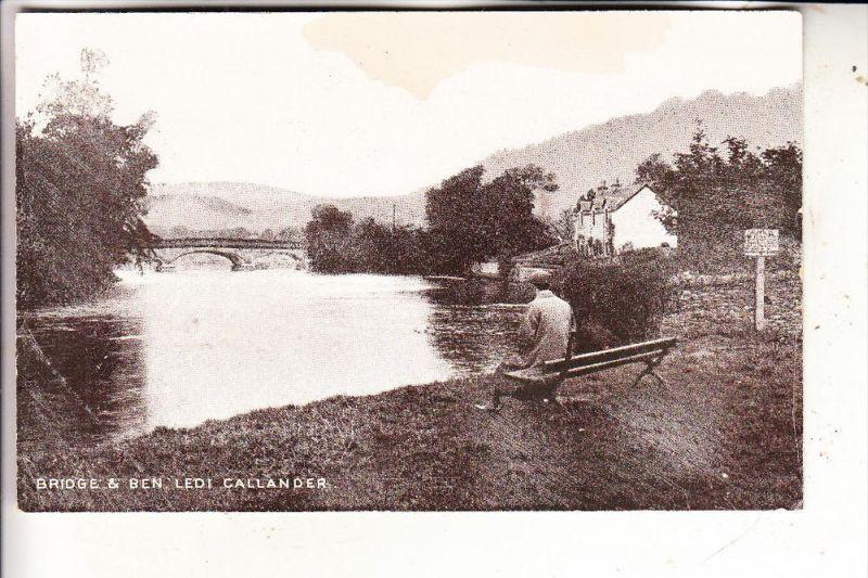 UK - SCOTLAND - STIRLINGSHIRE - CALLANDER, Bridge & Ben Ledi