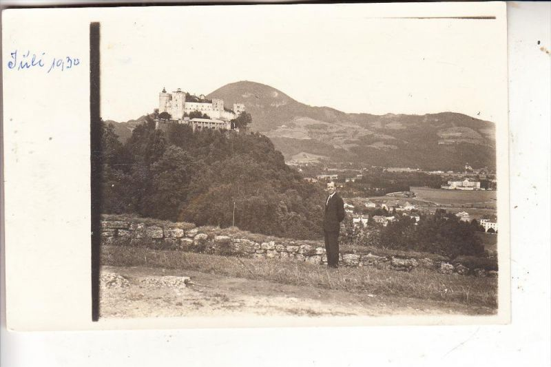 A 4000 LINZ, Photo-AK, 1930