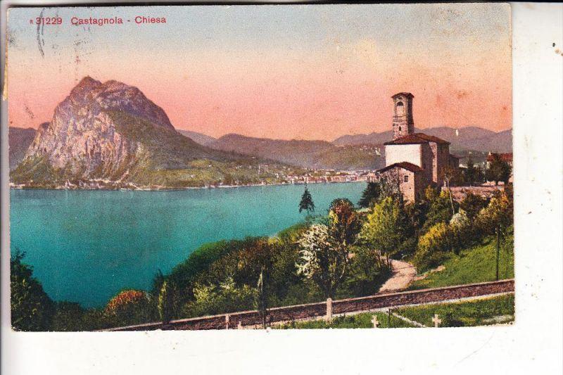 CH 6900 LUGANO - CASTAGNOLA, Chiesa, 1925