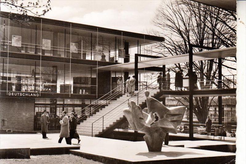 EXPO - BRUSSEL 1958, Pavillon DEUTSCHLAND