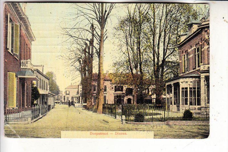 NL - GELDERLAND - RHEDEN - DIEREN, Dorpstraat, 1909, Knick