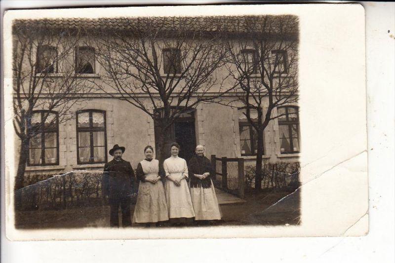 4902 BAD SALZUFLEN, Photo-AK, 1914, Knick Einriss