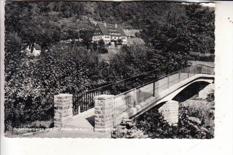 5372 GEMÜND, Urft-Brücke, Jugendherberge