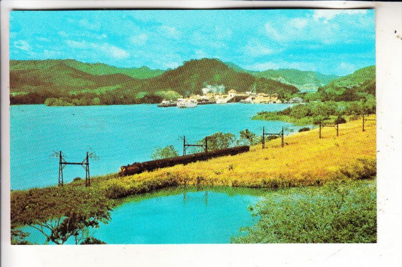 PANAMA - Miraflores Lake, Railway