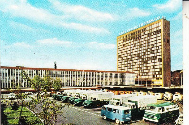1000 BERLIN - KREUZBERG, Kochstrasse, Axel Springer Verlag, Automobile