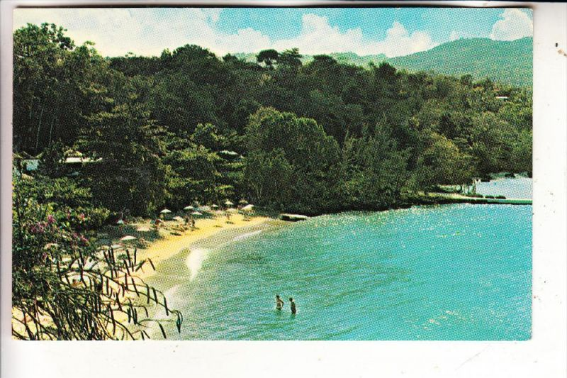 JAMAICA - PAN AM advertising card
