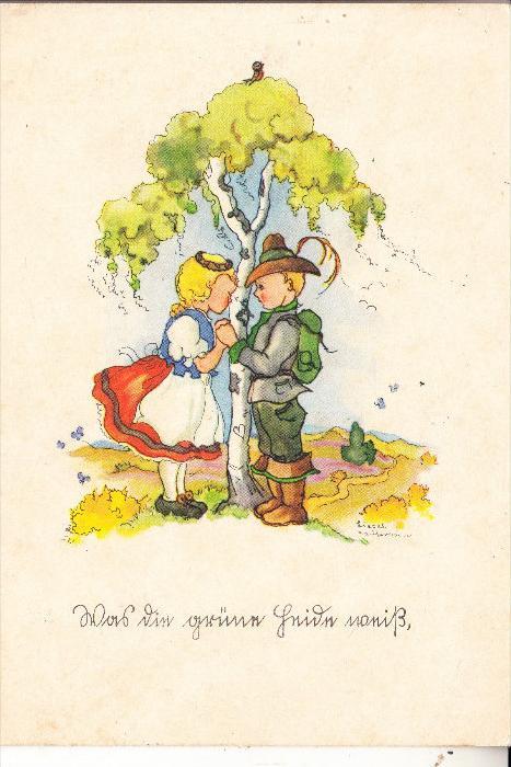 KINDER / Children / Enfants / Bambini / Ninos / Kinderen - Künstler-Karte Liesel Lauterkorn,