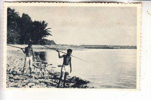 MICRONESIA - CAROLINES, Speerfischer, Ethnik - Völkerkunde