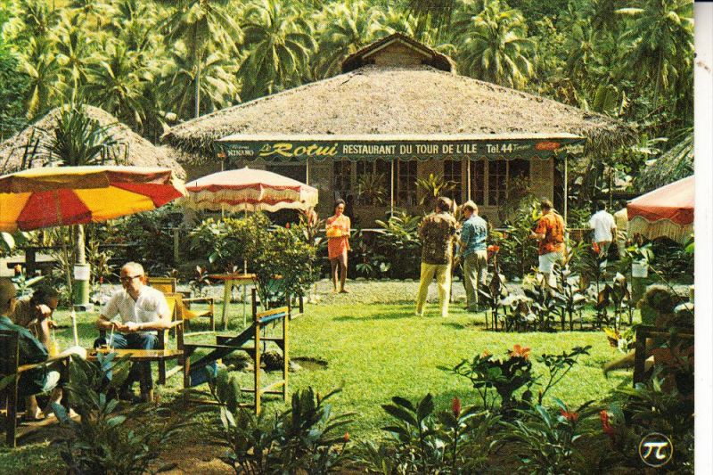 TAHITI - FAAONE, Restaurant