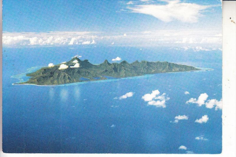 TAHITI - MOOREA, vue airienne