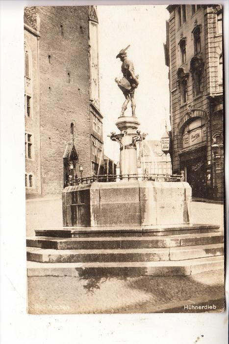 5100 AACHEN, Hühnerdieb Brunnen, 192...