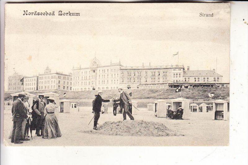 2972 BORKUM, Strand, 1905