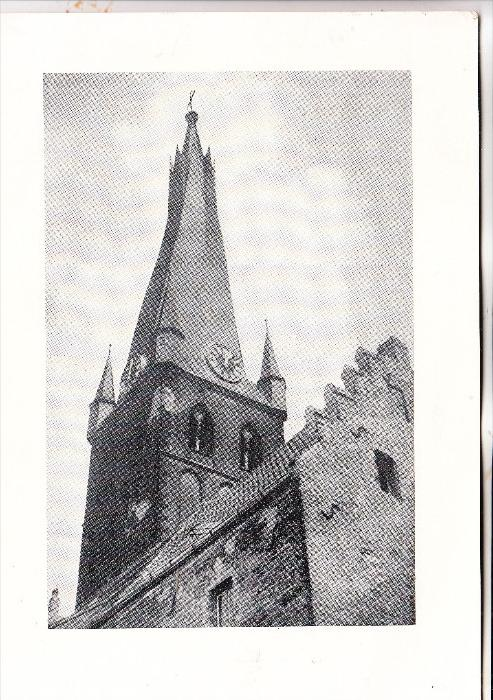 4000 DÜSSELDORF, St. Lambertus - Kirche, Beisetzung Dechant Heinrich Schmitz, 1967, 21 x 15 cm