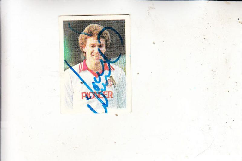 SPORT - FUSSBALL - 1.FC KÖLN - TONY WOODCOCK, Sammelbild 1980, Autogramm