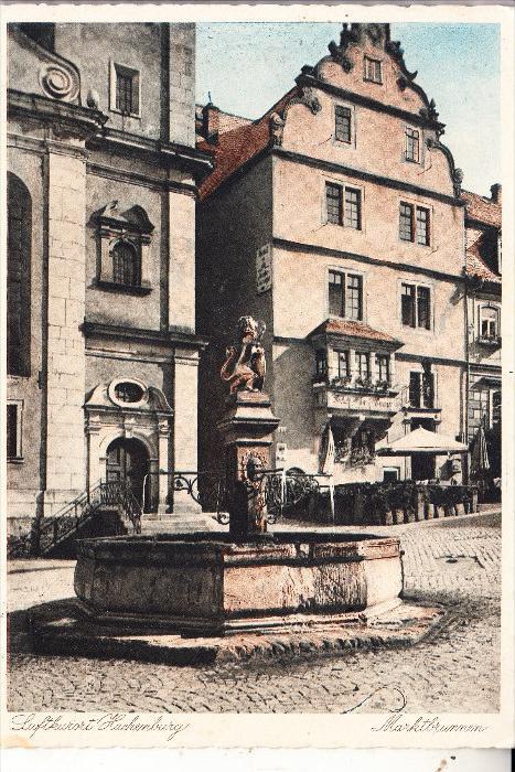 5238 HACHENBURG, Marktbrunnen, 1935