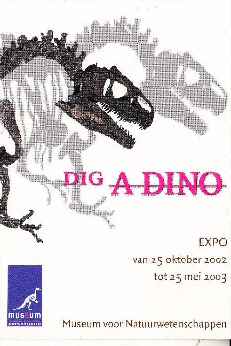 TIERE - PRÄHISTORISCH, Dig A Dino, Amsterdam Museum