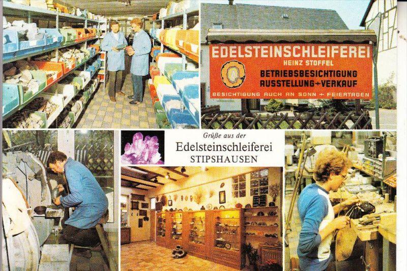 6572 RHAUNEN - STIPSHAUSEN, Edelsteinschleiferei Stoffel