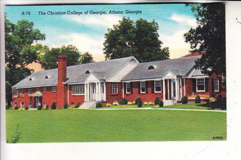 USA - GEORGIA - ATHENS, Christian College of Georgia