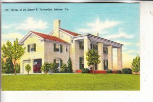 USA - GEORGIA - ATHENS, Dr. Harry E. Talmadge Home