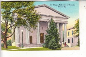 USA - GEORGIA - ATHENS, Chapel, University of Georgia