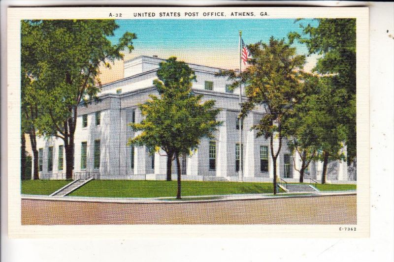 USA - GEORGIA - ATHENS, Post Office