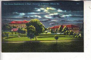 USA - GEORGIA - ATHENS, View across Amphitheatre at Night, University of Georgia