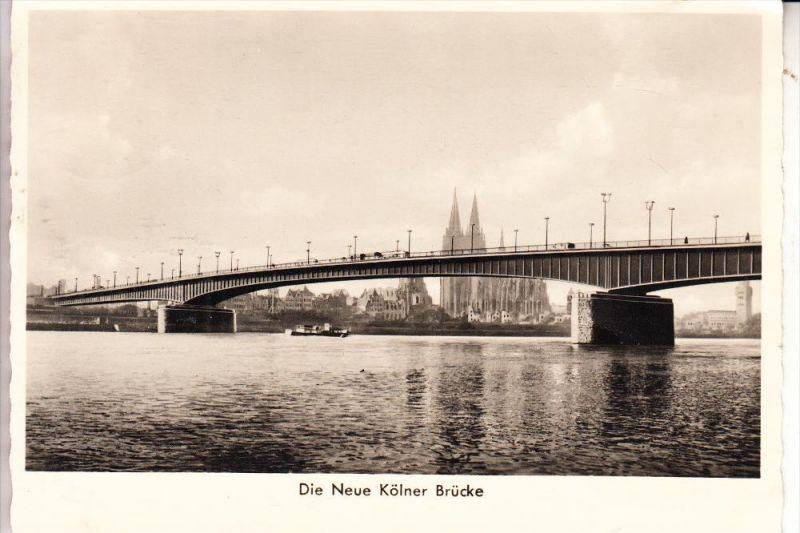 5000 KÖLN, Neue Kölner Brücke, 1951
