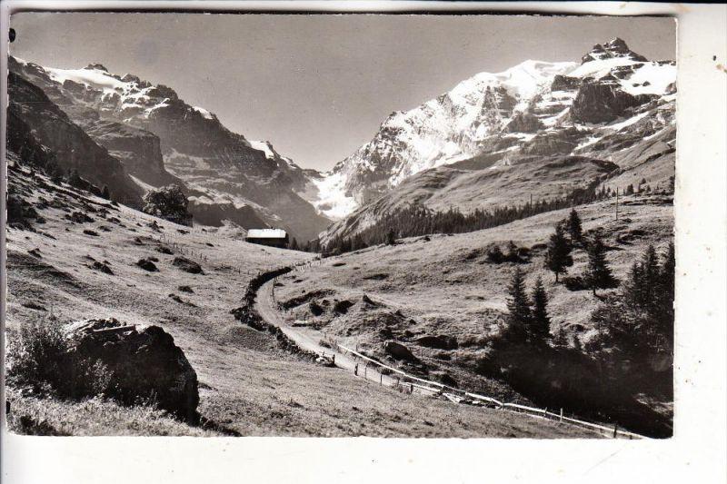 CH 3713 REICHENBACH - KIENTAL, Landschaft auf Gornern, 1959