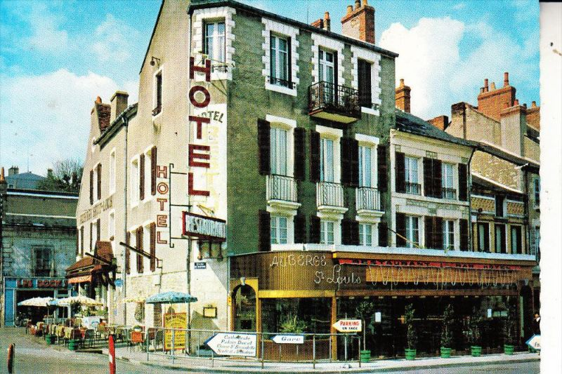 F 58000 NEVERS, Auberge Saint Louis, CPSM