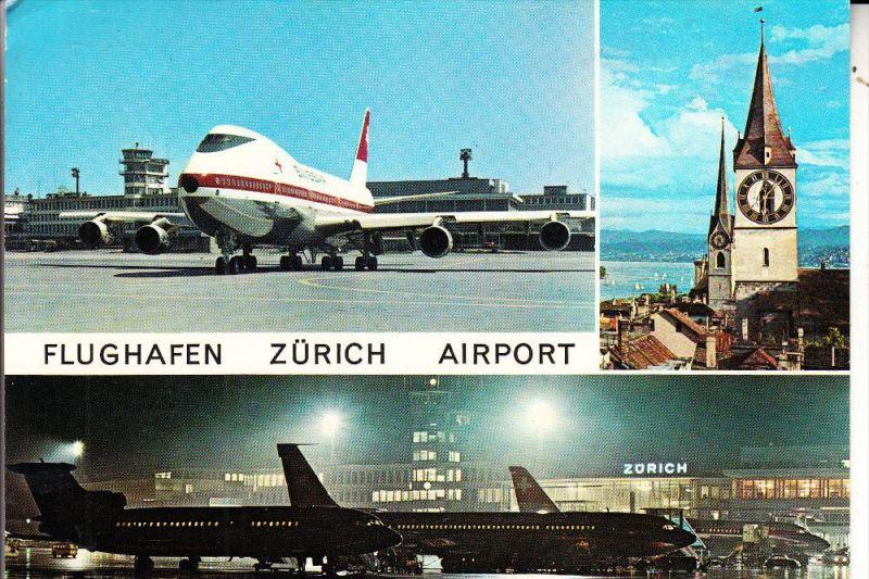 FLUGHAFEN / Airport - ZÜRICH, Swissair
