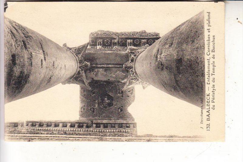 LIBANON - BAALBEK, Temple de Bacchus