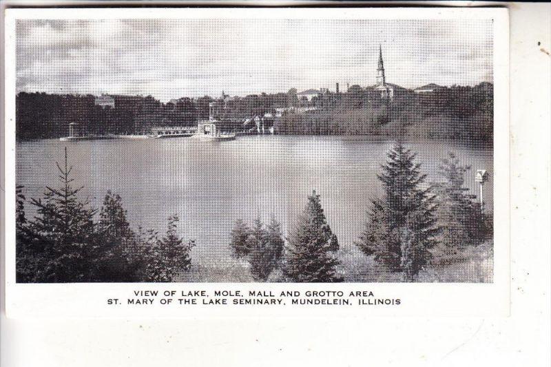 USA - ILLINOIS - MUNDELEIN, Lake Mole