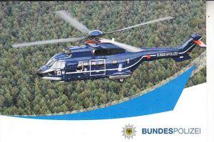 HUBSCHRAUBER / HELIKOPTER, AS 332 L1 Super Puma, Deutsche Bundespolizei