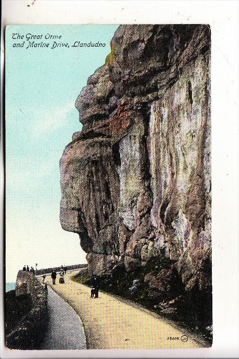 UK - WALES - CONWY - LLANDUDNO, Great Orme, 1917